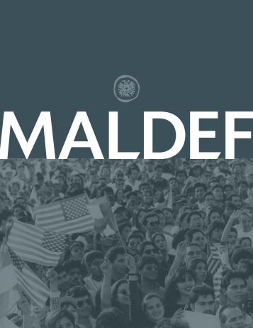 MALDEF Annual Report 2008 - 2009