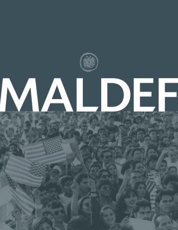 MALDEF Annual Report 2008 - 2009