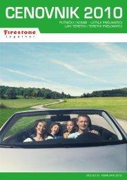 putnički pneumatici - Bridgestone