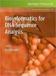Bioinformatics for DNA Sequence Analysis.pdf - Index of