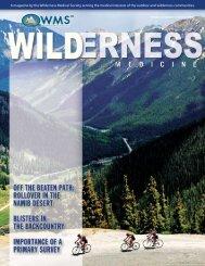 Summer, 2006 - Wilderness Medical Society
