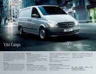 Vito Cargo. - Mercedes-Benz México