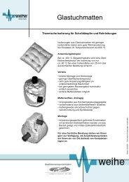 Glastuchmatten - Weihe GmbH