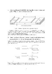 1 Draw a p-channel MESFET showing the source, drain, and gate ...