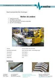 Weiter als andere - Weihe GmbH