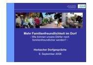Mehr Familienfreundlichkeit im Dorf - u-plan-redlin.de