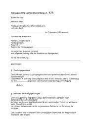 Ausleihvertrag Spielgeräte - Jugendserver Niedersachsen
