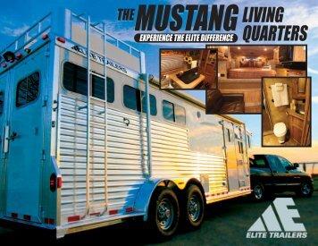 Elite Mustang Front - Elite Trailers