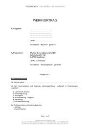 Muster Werkvertrag Hogast Mitglied Thurner Generalplanung