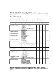Bijlage bij richtlijn Hypofyse tumoren, hoofdstuk Algemeen - Oncoline