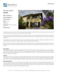 Hosted Villas - Villa delle Colline