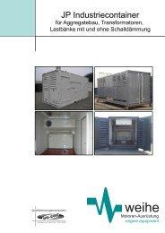 JP Industriecontainer - Weihe GmbH