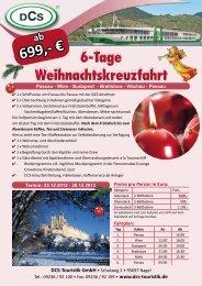 ab 699,- € DCS-Touristik GmbH