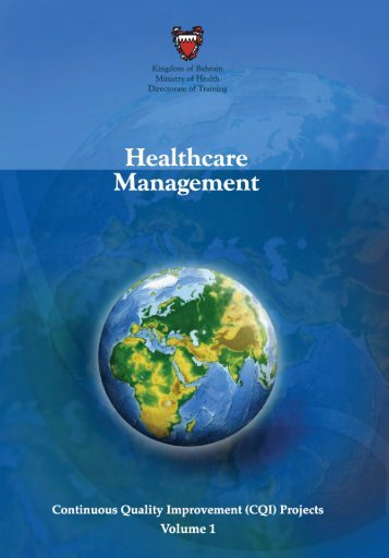 Healthcare Management CQI Projects Vol. 1