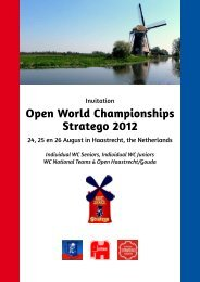 Open World Championships Stratego 2012 - Gravopedia