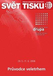 Průvodce veletrhem DRUPA 2008 - Svět tisku