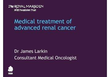 James Larkin - Royal Marsden Hospital