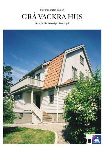 Färgkarta Grå Vackra Hus