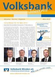 Journal - Volksbank Minden eG