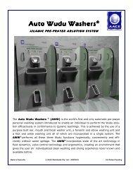 Auto Wudu Washers (PDF) (AACE)