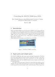 pdf describing how the box works - timo.dk