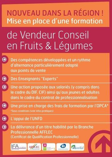 de Vendeur Conseil en Fruits & Légumes - (CCI) de Rouen