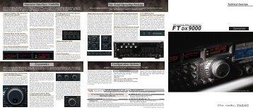 FT DX 9000 - Yaesu UK Ltd
