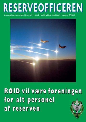 Reserveofficeren 2 / 2005 - Hovedorganisationen for Personel af ...
