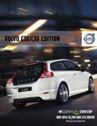 Die Volvo C30 Edition