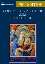 2012 Columban Calendar - St Columbans Mission Society