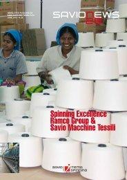 Spinning Excellence Ramco Group & Savio Macchine Tessili