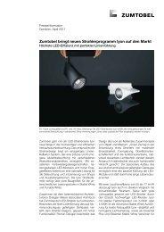 Zumtobel bringt neues Strahlerprogramm Iyon auf den Markt