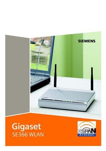 Gigaset SE366 WLAN - Wireless Driver & Software