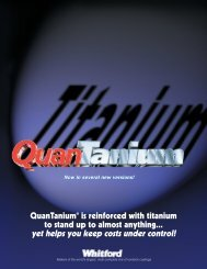 QuanTanium - reinforced with titanium to stand up to almost anything