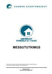 MESSUTUTKIMUS - Asuntomessut