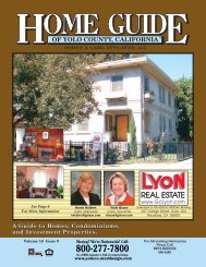 REAL ESTATE - Home Guide of Yolo County, CA