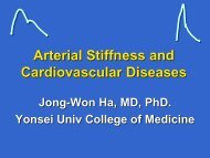 Arterial Stiffness and Cardiovascular Diseases