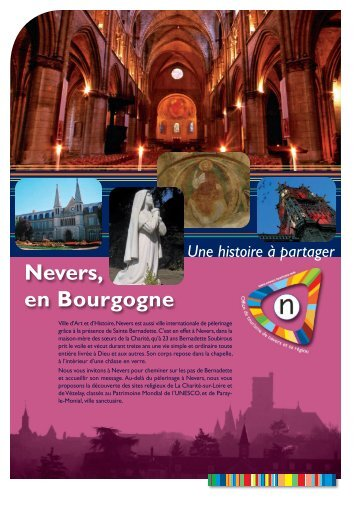 Nevers, en Bourgogne - Office de tourisme de Nevers
