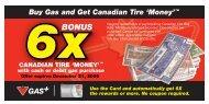 6xBONUS - Canadian Tire Corporation