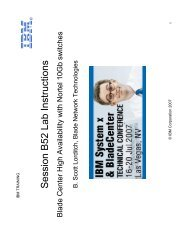 Session B52 Lab Instructions - IBM Quicklinks