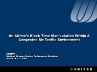 An Airline's Block Time Manipulation within a Congested Air Traffic ...