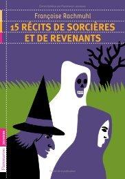 15 Récits de sorcières et de revenants - Decitre