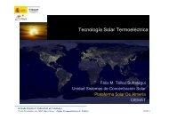Tecnología Solar Termoeléctrica - Enginyers Industrials de Catalunya