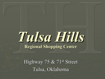 Tulsa Hills - Greater Tulsa Association of Realtors