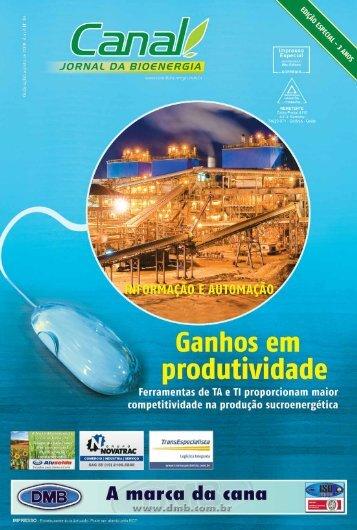 Canal : O jornal da bioenergia