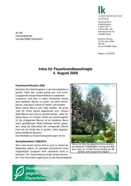 2009-08-04 FB-Info - Vorderland
