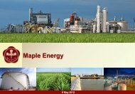 Hellenic Carriers Limited - Maple Energy
