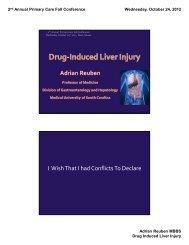 Drug-Induced Liver Injury - CME Conferences