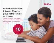 Le plan de Sécurité Internet McAfee pour votre famille
