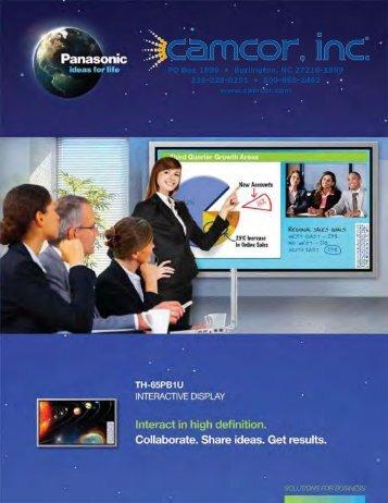 Brochure - Camcor.com